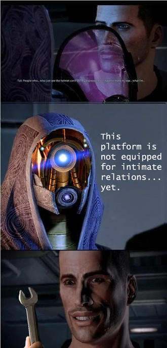 This Platform is Not Equipped For Intimate Relations...Yet