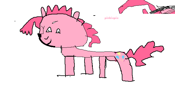 A Horribly Drawn Pinkie Pie by Chottapride on DeviantART