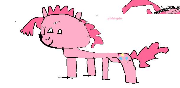 A Horribly Drawn Pinkie Pie by Chottapride on DeviantART