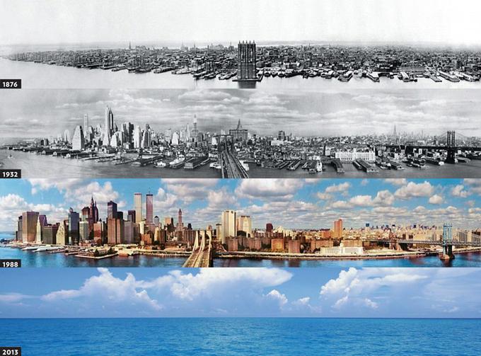 evolution of new york