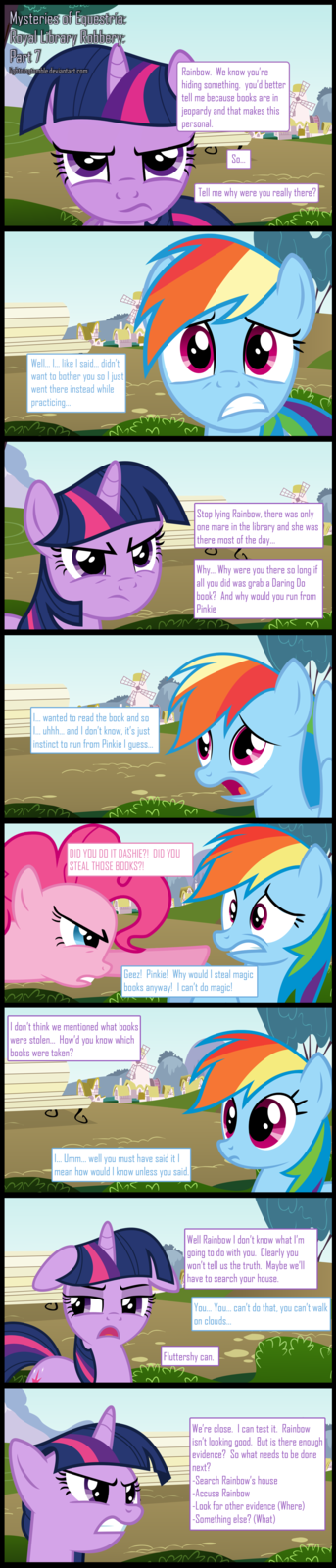 Mysteries of Equestria: Library Robbery: Part 7