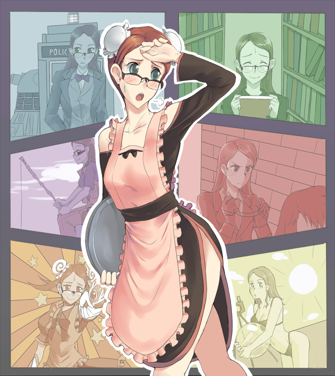 The Overworked Yuuko, by vcr