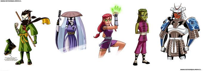 Teen Titans - Edo Period