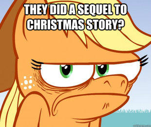they did a sequel to Christmas story?