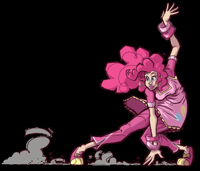 Slidin' Pinkie