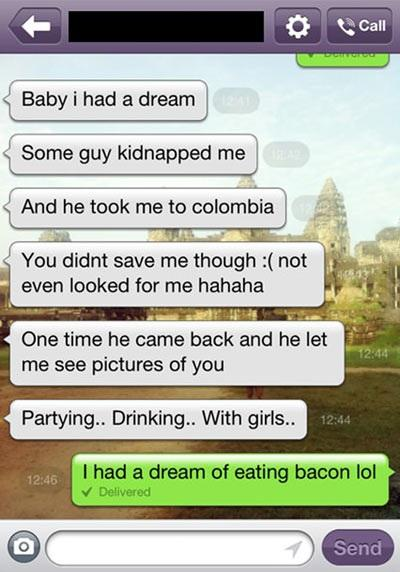 I Dream Of Eating Bacon
