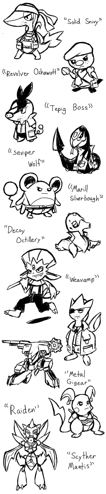 Metal Gear Pokemon