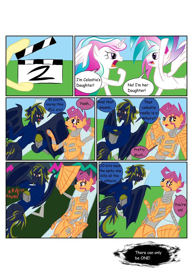 "Rediculous OCs on ""Children of Celestia"" Take 2"