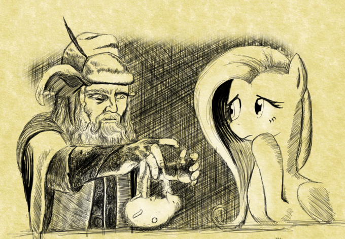 Radagast and Fluttershy