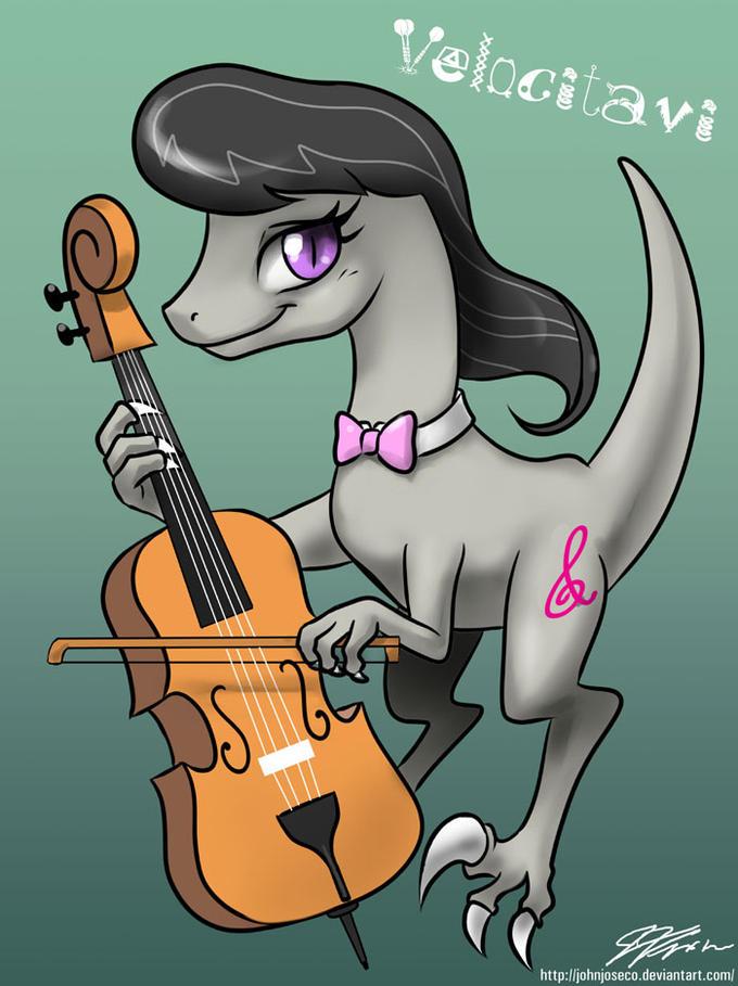 Our Musical Patron Dino, Velocitavi