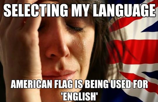 First World British Problem