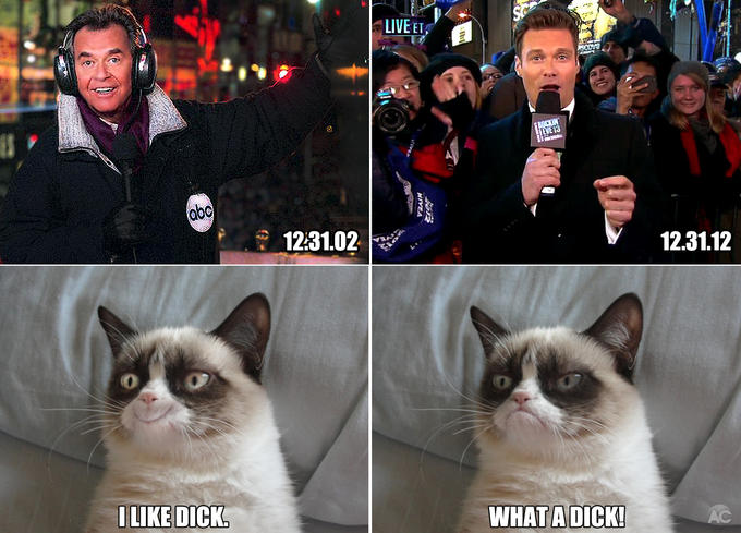 Rockin' New Years Eve - Tard's reactions to then and now.