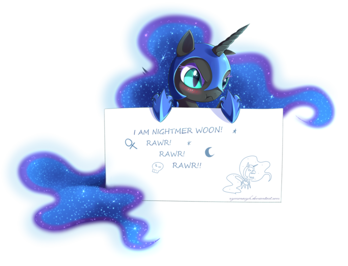 Nightmare Moon message