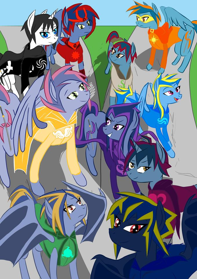 Homestuck/My Little Pony OCs