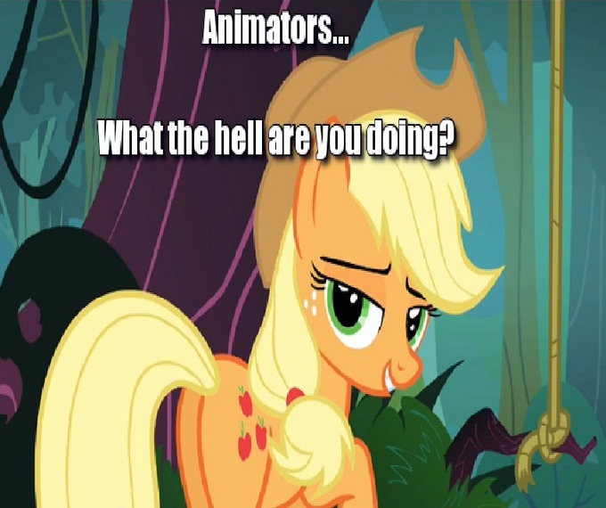 Animators... What the hell are you doing?