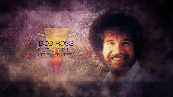 Bob Ross - Little Happy Grunge.