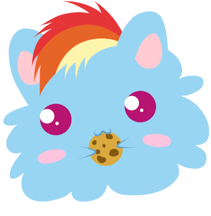 Pet Rainbow Dash