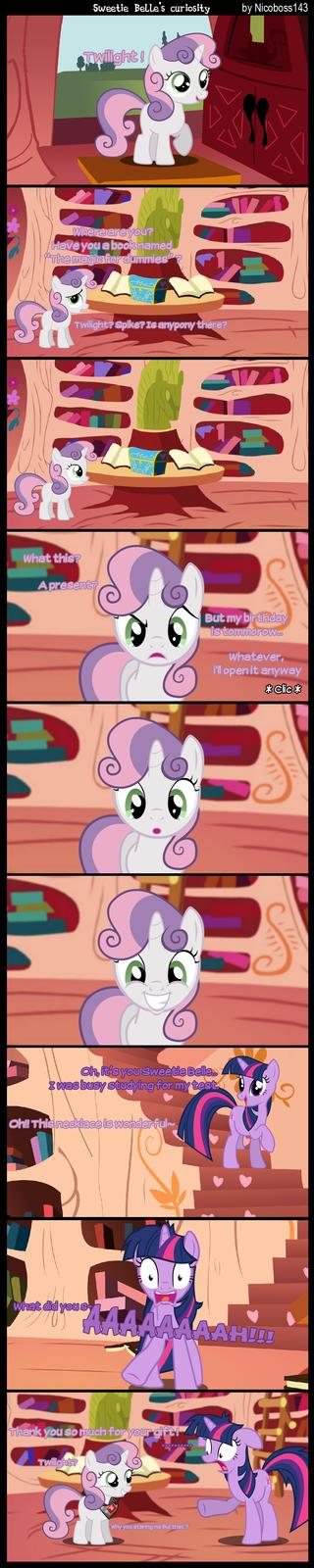 Sweetie Belle's curiosity