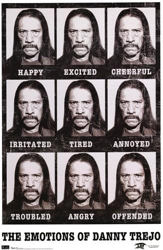 Danny Trejo emotion chart