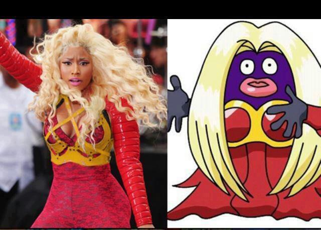 Nicki Minaj cosplaying as Nicki Minaj (YES THIS ACTUALLY HAPPENED)