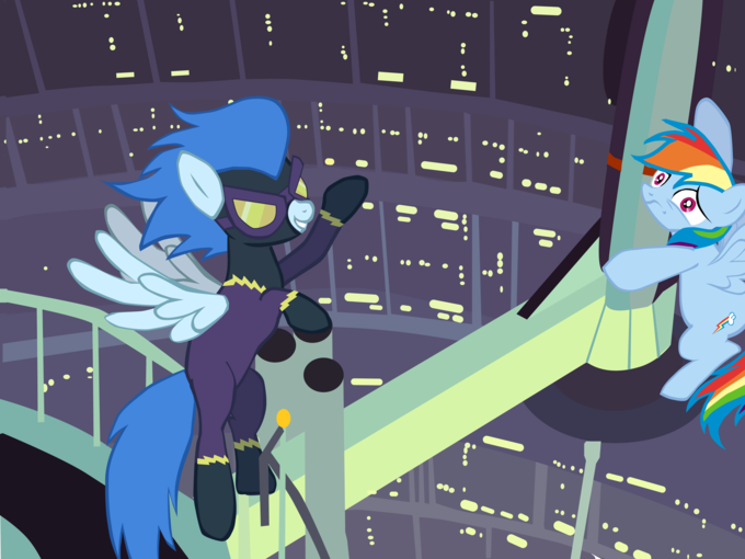 Rainbow Dash, I am your mother!
