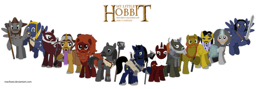 ponified hobbit