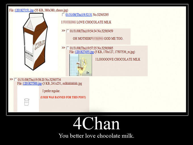 Chocolate Milk Threads  Know Your Meme