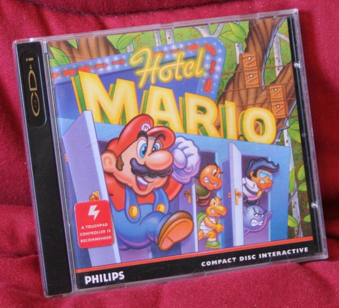 Hotel Mario boxart