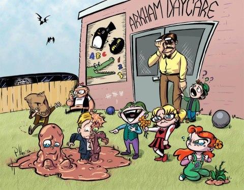 Arkham Daycare For The Criminally Insane