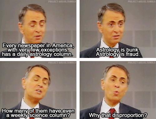 Sagan on Astrology