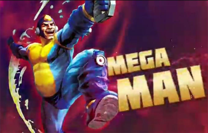 Mega Man in Street Fighter X Tekken