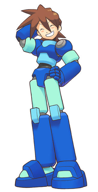 Rock Volnutt (Mega Man Legends)