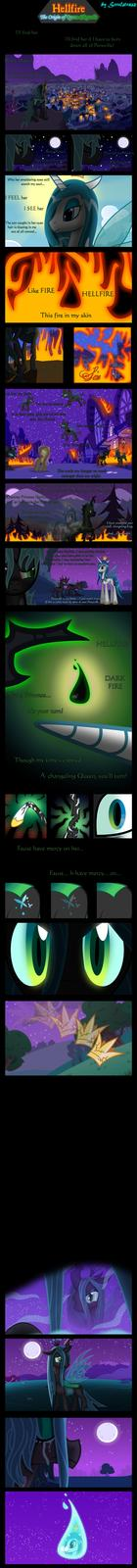 Hellfire: The Origin of Queen Chrysalis