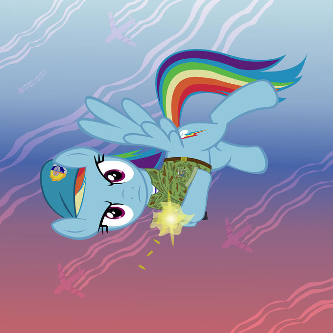 Rainbow Dash in the VDV!