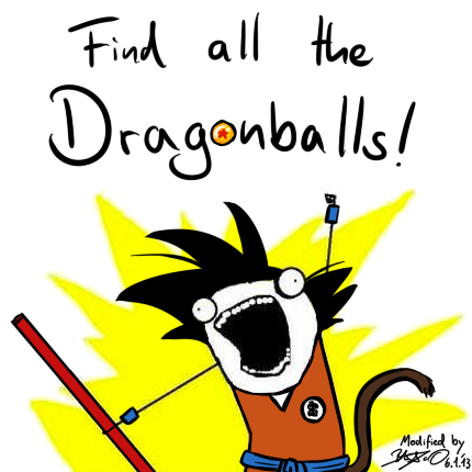 Find all the Dragonballs!