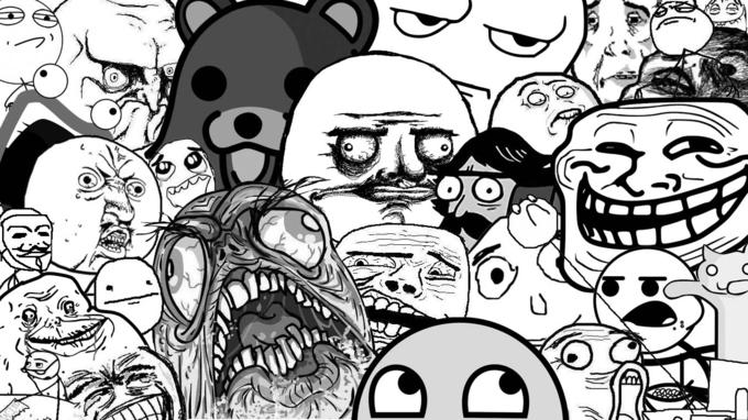 A Whole Bunch of Rage Faces (Plus Pedobear and Longcat :3)