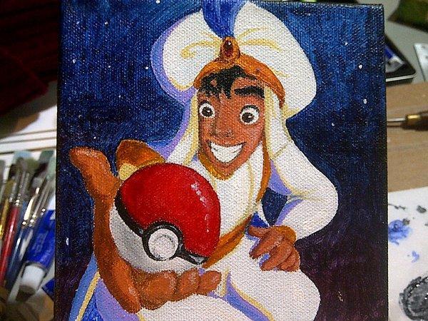 Aladdin the Pokemon Master