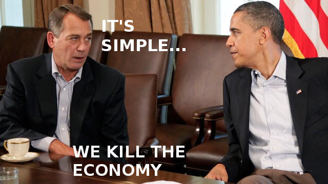 We kill the economy