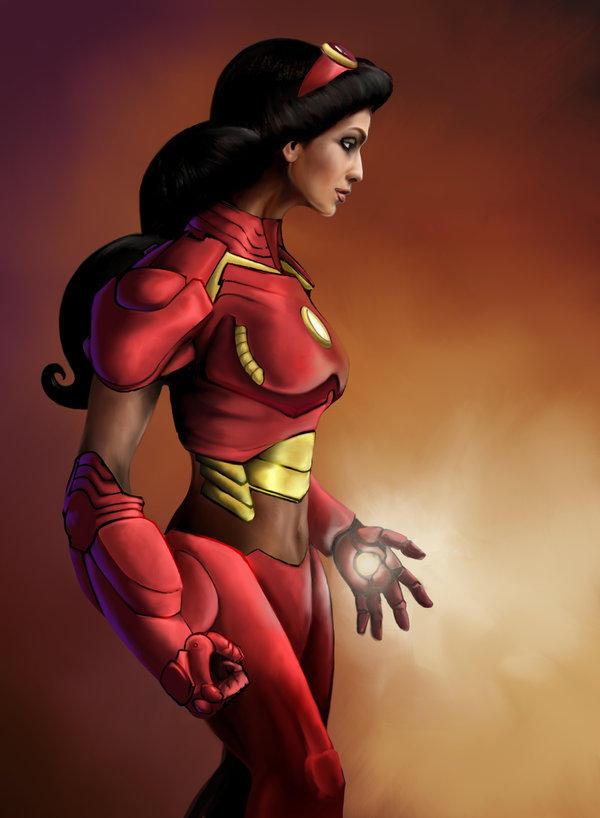 Princess Avengers: IRONMAN