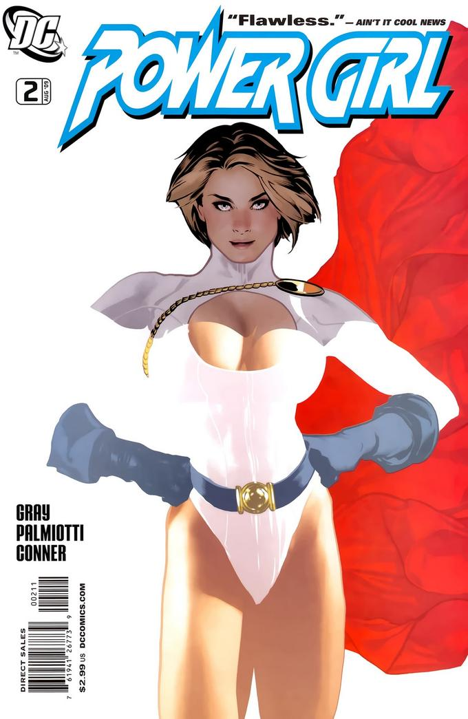 Power Girl Comic