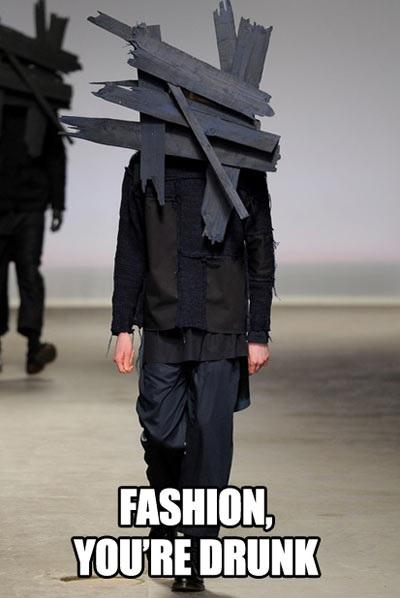 Fashion is Drunk