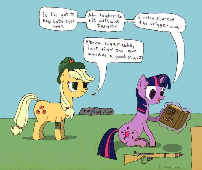 there are 4 fundamentals of marksmanship...unless you're twilight, in that case there's a book for each fundamental