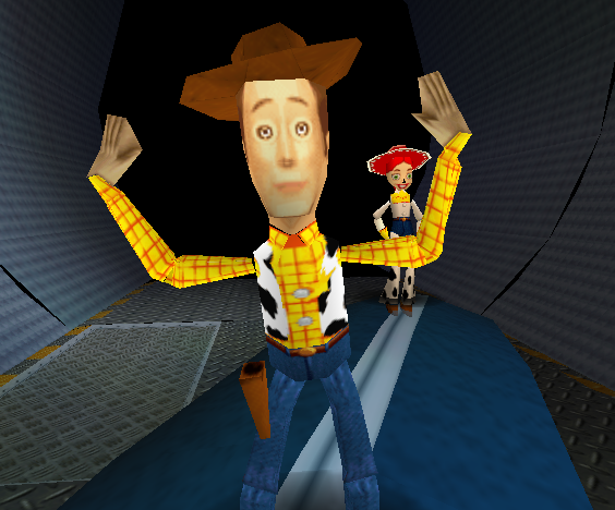 Another Instance of a creepy Woody.