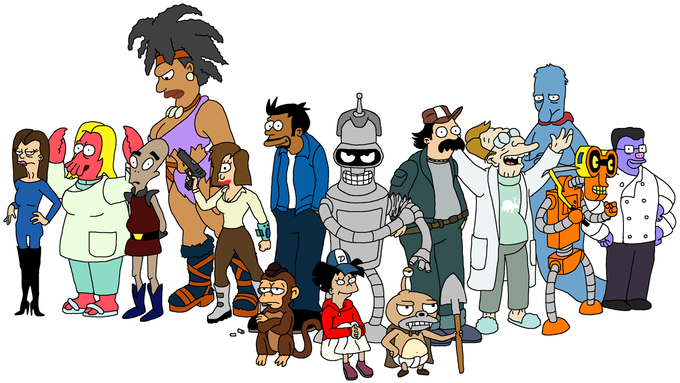 The Walking Futurama