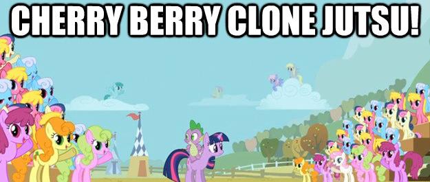 cherry berry clone jutsu!