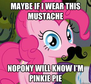 PinkieMustache