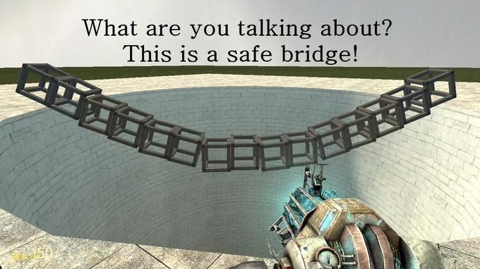 Safe Garry's Mod Bridge