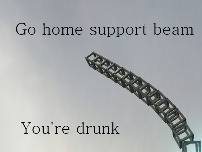 Go Home Support Beam