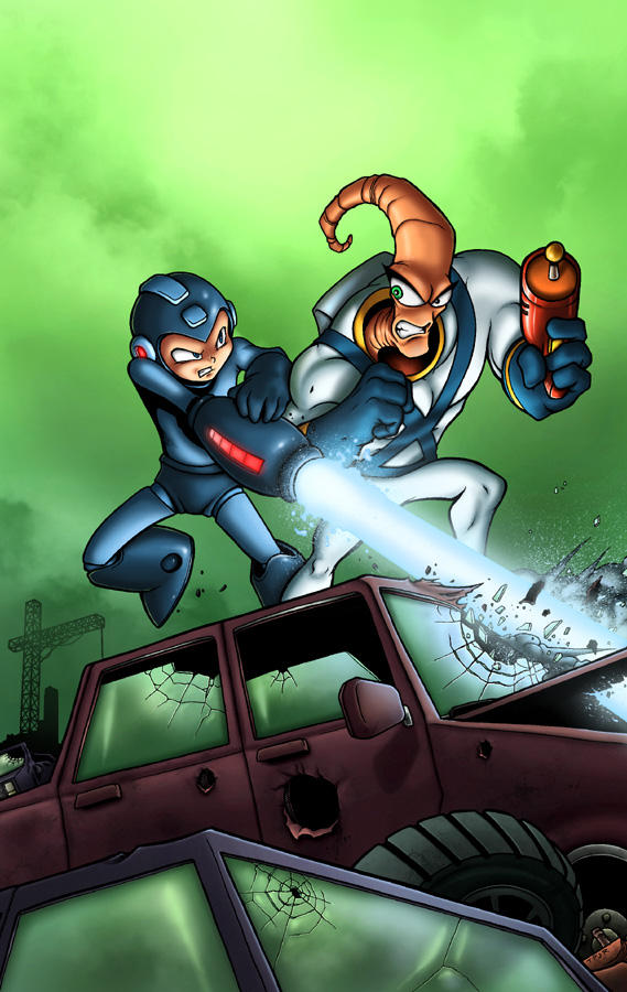 Mega Man vs. Earthworm Jim
