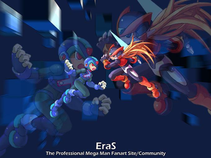 X vs Zero (Mega Man Zero)